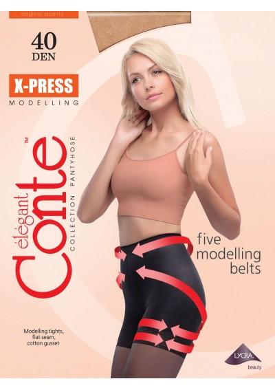 Моделирующие колготки Сonte X-PRESS 40
